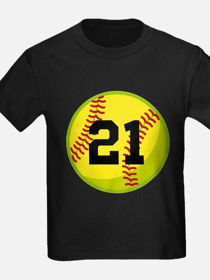 Softball Sports Personalized T