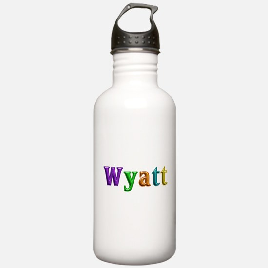 Wyatt Shiny Colors Water Bottle