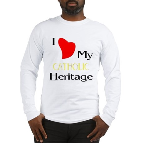 Catholic Heritage Long Sleeve T-Shirt