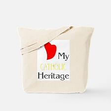 Catholic Heritage Tote Bag