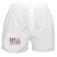 WORLD'S ONLY SUPERPOWER Boxer Shorts