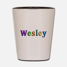 Wesley Shiny Colors Shot Glass