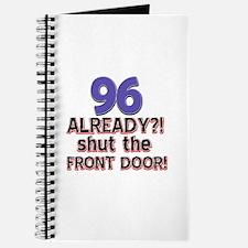 96 already? Shut the front door Journal