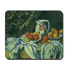 Still Life by Paul Cezanne Mousepad