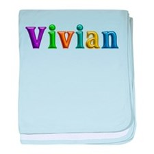 Vivian Shiny Colors baby blanket