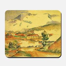 Cezanne, Mont Sainte Victoire Mousepad
