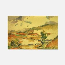 Cezanne, Mont Sainte Victoire Rectangle Magnet