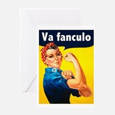 Va Fanculo Greeting Card