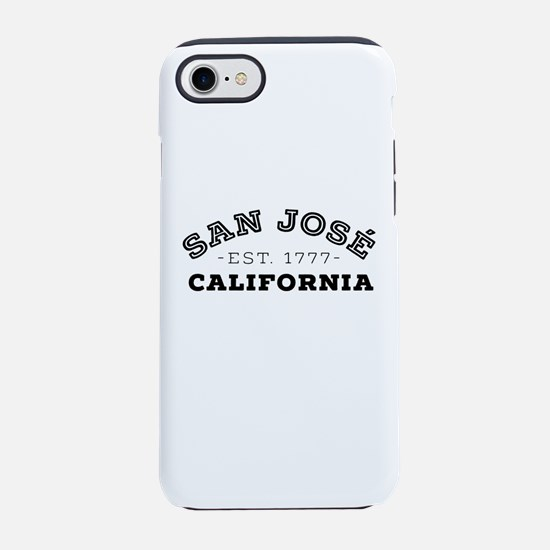 San José California iPhone 7 Tough Case