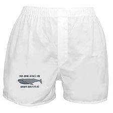 Sad Hump Day Humpback Boxer Shorts