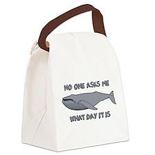 Sad Hump Day Humpback Canvas Lunch Bag