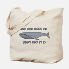 Sad Hump Day Humpback Tote Bag