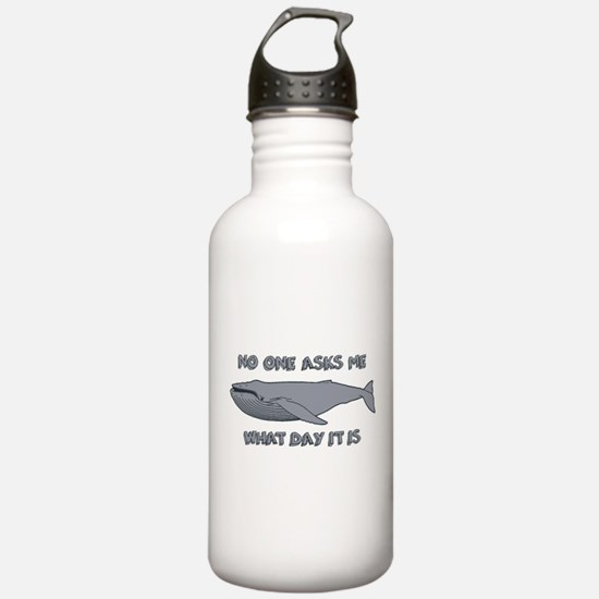 Sad Hump Day Humpback Water Bottle