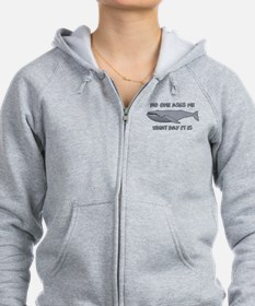 Sad Hump Day Humpback Zip Hoodie