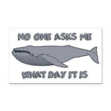 Sad Hump Day Humpback Rectangle Car Magnet