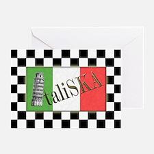 Flags of SKA: ItaliSKA Greeting Cards (Package of