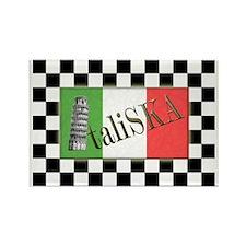 Flags of SKA: ItaliSKA Rectangle Magnet