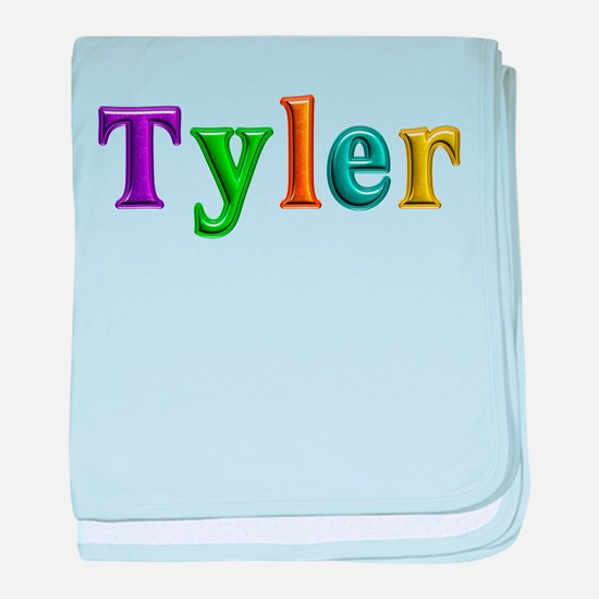 Tyler Shiny Colors baby blanket