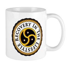 Recovery In the Lifestyle - Logo - Simplified Coffee Mugs