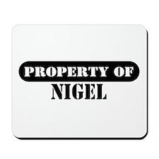 Property of Nigel Mousepad