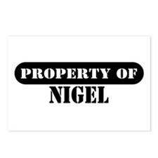 Property of Nigel Postcards (Package of 8)