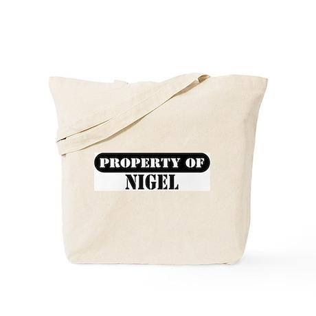 Property of Nigel Tote Bag