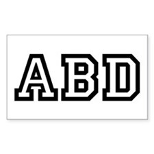 ABD Rectangle Decal