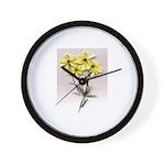 Coropsis Flower design Wall Clock