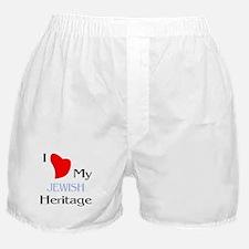 Jewish Heritage Boxer Shorts