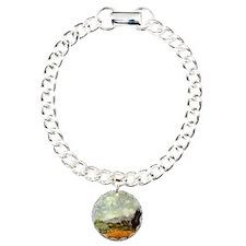 Vintage Van Gogh Art Charm Bracelet, One Charm