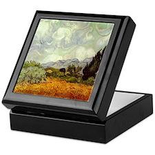 Vintage Van Gogh Art Keepsake Box