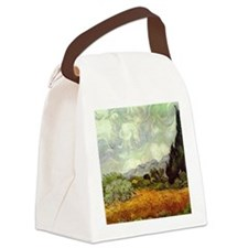 Vintage Van Gogh Art Canvas Lunch Bag