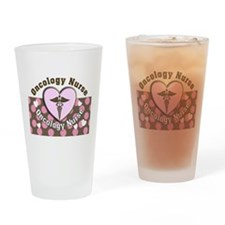Oncology Nurse Drinking Glass