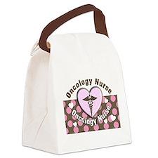 Oncology Nurse Canvas Lunch Bag