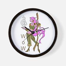 Female Night Elf Wall Clock