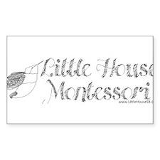 Little House Montessori Decal