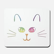 Rainbow Kitty Mousepad