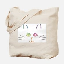 Rainbow Kitty Tote Bag