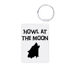 Howl at the Moon Keychains