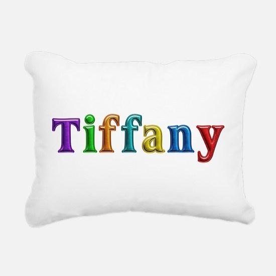 Tiffany Shiny Colors Rectangular Canvas Pillow