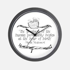 Greatness of Personality Wall Clock