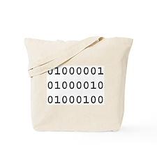 Binary ABD Tote Bag