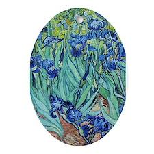 Iris, Vincent van Gogh. Vintage floral oil paintin