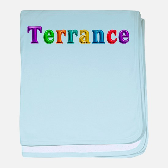 Terrance Shiny Colors baby blanket