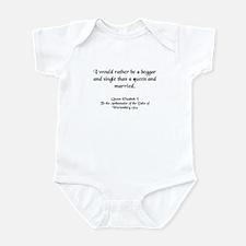 Quote 3 Infant Bodysuit