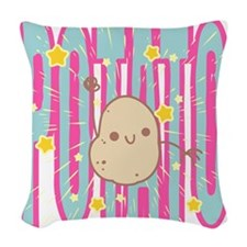 POTATO Woven Throw Pillow