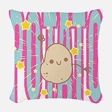 POTATO Woven Throw Pillow