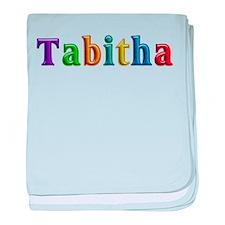 Tabitha Shiny Colors baby blanket