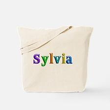 Sylvia Shiny Colors Tote Bag