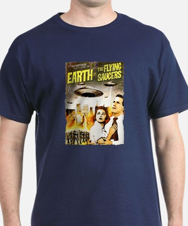 Earth vs. the Flying Saucers grunge T-Shirt